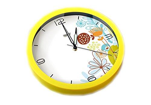 Creative Luminous Wall Clock 12 Inch Black Diameter: 30cm...