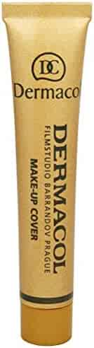 Dermacol Make-up Cover #212, Mid-Brown/Pink, For All Skin Types