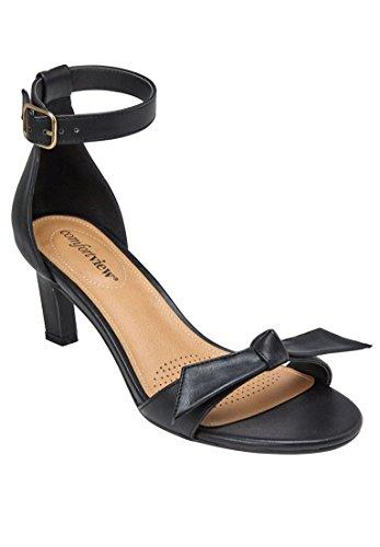 Comfortview Brede Sandalen Dames Sandalen Zwart