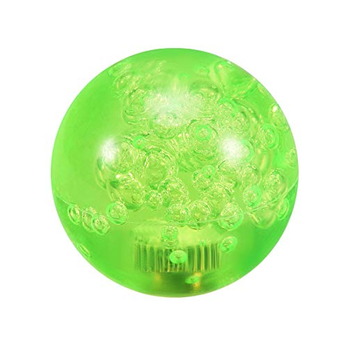 uxcell Joystick Ball Top Handle Rocker Round Head Arcade Fighting Game DIY Parts Replacement Crystal Green
