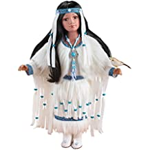 Women's Cholena Native American Collectible Porcelain Doll