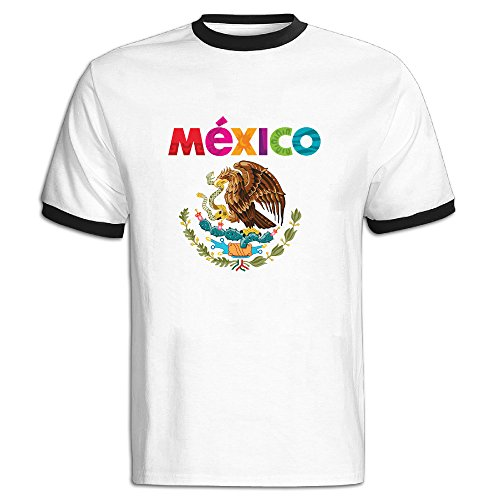 Lonmir Men's Mexico O-neck T Shirts M (Mexico 66 Dress)