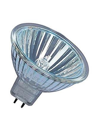 Philips - Bombilla halógena dicroica MR16, para focos, 50 W, casquillo GU5.3, 12 V, regulable, 20 unidades, clase energética B: Amazon.es: Iluminación