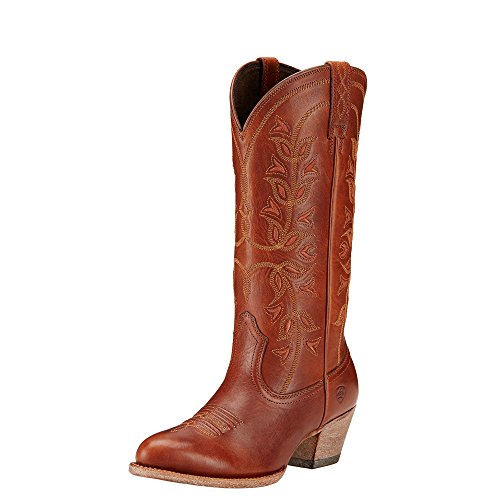 Ariat Women's Desert Holly Western Cowboy Boot, Rosy Red, 9 B US