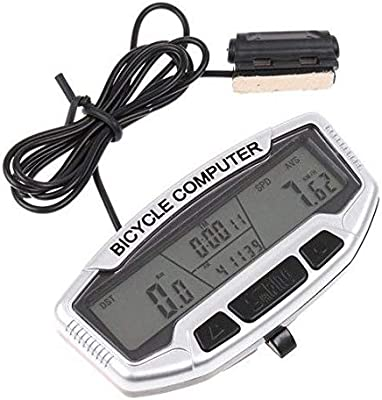 Digital LCD Backlight Bicycle Computer Odometer Speedometer Velometer Waterproof