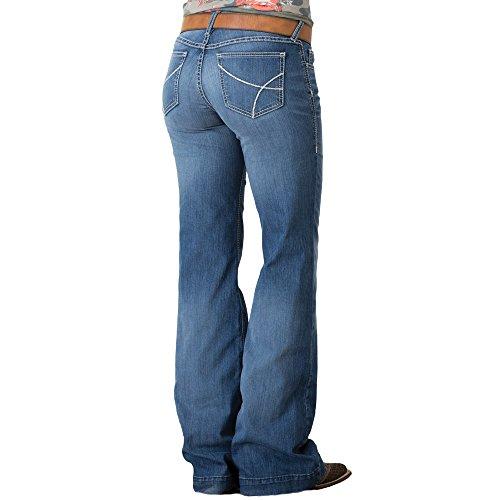 Ariat Women's Trouser Jean, Bonnie Stitch, 29 Reg Trouser Womens Jeans