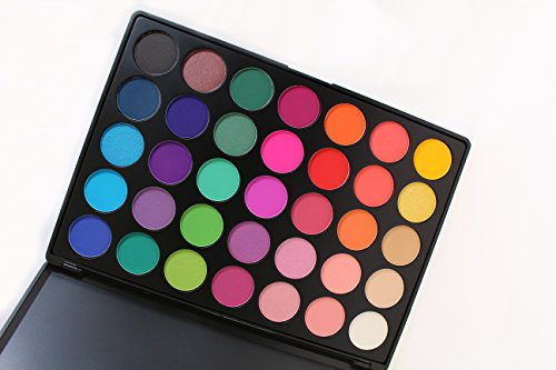 Morphe Pro 35 Color Eyeshadow Makeup Palette Glam High