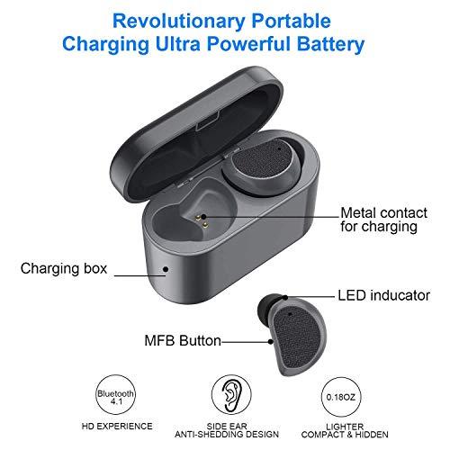 Amazon.com: Asdf Bluetooth Headset with Charging Box Wireless Headphones Sweat-Resistant, Waterproof, Suitable for Sports, Running, Gym Headphones: ...