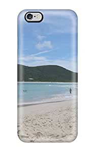 Defender Case For Iphone 6 Plus, Flamenco Beach Pattern