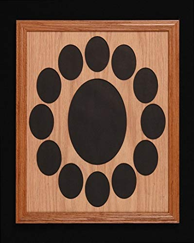 Amazoncom Lci Crafts 11 X 14 K Through 12 Oak Frame Mat Oak