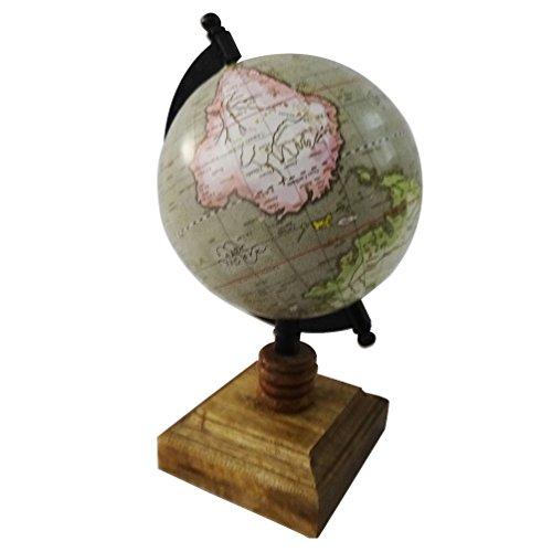 World Map Globe Round Shape 5 Plastic Ball 9 5 Tall