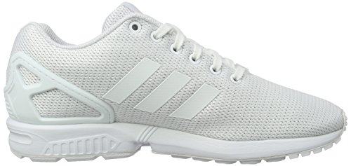 Flux Footwear Weiß Top ZX White Clear adidas Grey Weiß Low Erwachsene Unisex CptwqA