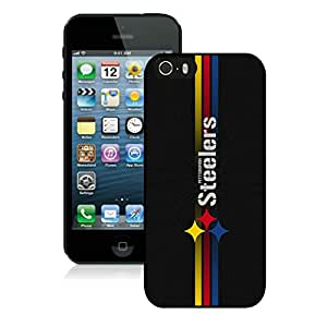 Personalized Design Phone Case For iPhone 5S Pittsburgh Steelers 16_iPhone 5s 5th Generation Black Phone Case Cover 30531