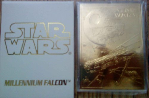 Star Wars 23 Karat Gold Limited Edtion Card Millenium Falcon - Limited Edtion 10000 Worldwide ()