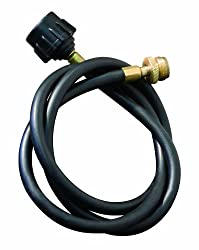 Camp Chef 5 Foot Bulk Tank Hose Adapter for use with disposable bottle regulators HRDSP