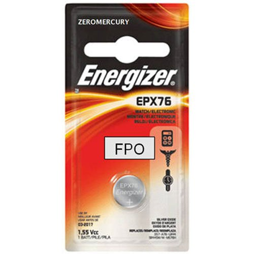 Energizer EPX76BPZ Electronic Silver 1.55V Battery