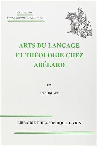 Livre gratuits Arts du langage et théologie chez Abélard pdf