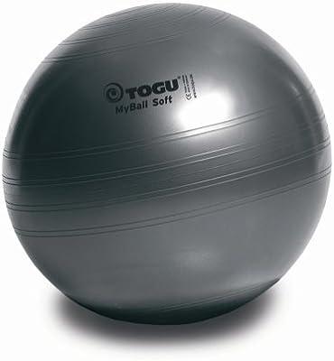 Togu My-Ball Soft - Pelota para fitness gris antracita Talla 65cm. Cargando  imágenes. 17deceadd1a5