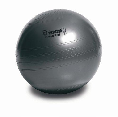 TOGU Gymnastikball My-Ball Soft 55 cm Anthrazit