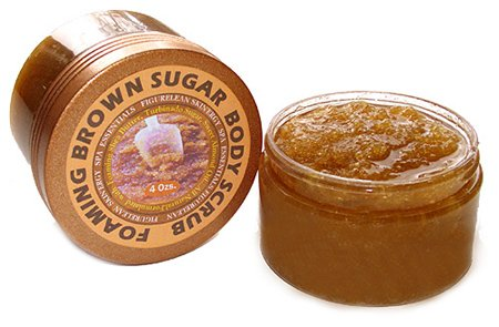 Foaming Brown Sugar Scrub, Warm Vanilla Sugar (Health Turbinado Sugar)
