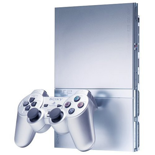 PlayStation 2 Slim Silver (Colts Tony)