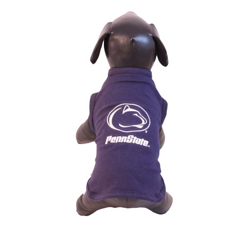 All Star Dogs NCAA Penn State Nittany Lions Cotton Lycra Dog Tank Top, X-Small by All Star Dogs
