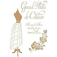 TODO-STENCIL Deco Vintage Composición 206 Grand Atelier. Medidas