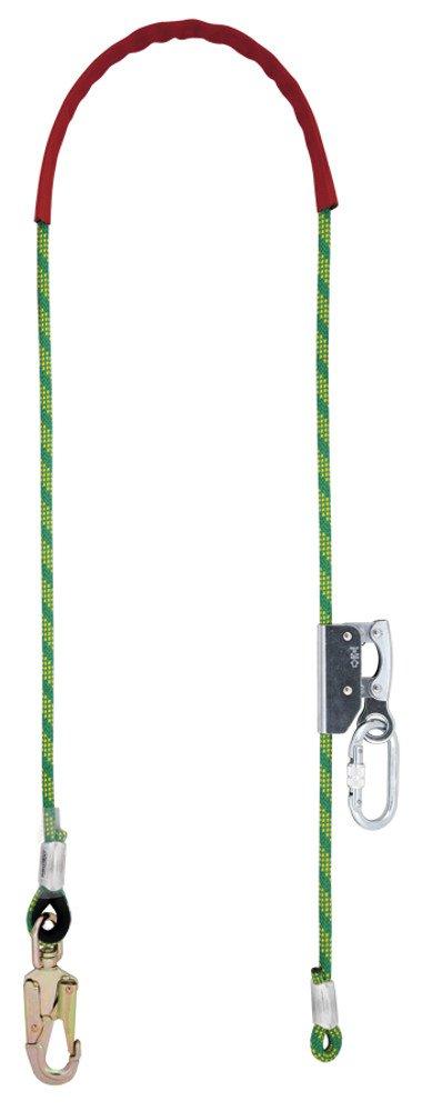 5 Meter TreeUp Kurzseilsicherung Prot 40 AF 140 Halteseil mit Stahlkern