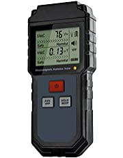 Wivarra Elektromagnetische Veldstraling Tester Emf Meter Handheld Teller Digitale Dosimeter LCD Detector Meting voor Computer Telefoon