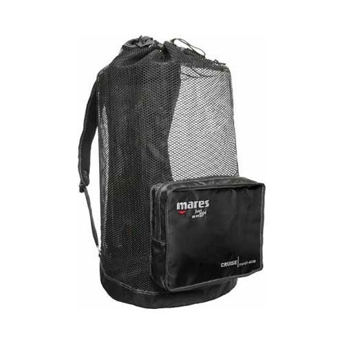 New Mares Elite Cruise Foldable Mesh Backpack Bag for Scuba Diving & Snorkeling