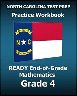 Amazoncom North Carolina Test Prep Practice Workbook Ready End Of