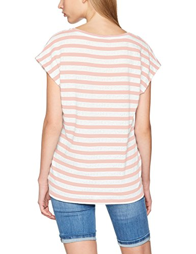 VERO MODA Vmmandy Ss Top Jrs A, T-Shirt Femme, Blanc (Snow White), 40 (Taille Fabricant: Large)