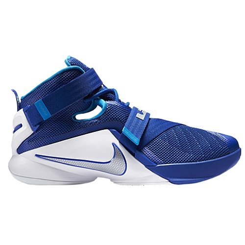 Nike Zoom Soldier IX Men's Basketball Shoes Blue/White 12 US