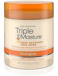 Neutrogena Triple Moisture Deep Recovery Hair Mask Moisturizer...