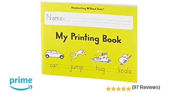 Handwriting Without Tears My Printing Book - Grade 1: Amazon.com ...