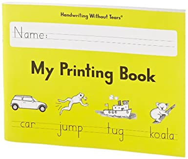 Workbook first grade worksheets pdf : Amazon.com: Handwriting Without Tears My Printing Book - Grade 1 ...