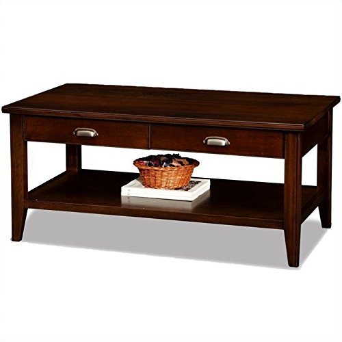 Leick Laurent 2-Drawer Coffee Table