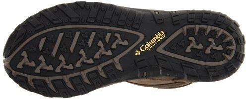Columbia YAMA MID LEATHER OUTDRY BL3820 Damen Trekking- & Wanderschuhe Braun (Truffle, Cane 211)