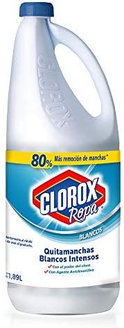 Clorox Quitamanchas Blancos Intensos Para Ropa Blanca Con Cloro 1,89 Lt