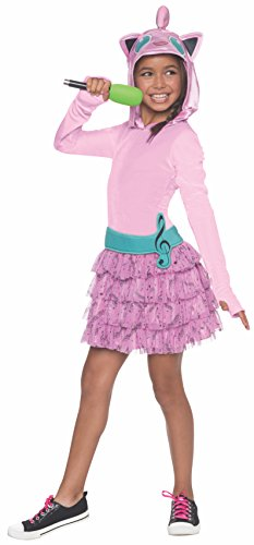Rubie's Costume Pokemon Jigglypuff Child Hooded Costume Dress Costume, Medium ()