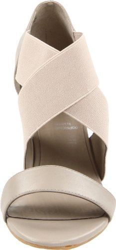 Rockport HS Crossband Gore K60164 - Sandalias de vestir de cuero para mujer Gris (Grau (COBBLESTONE GREY))