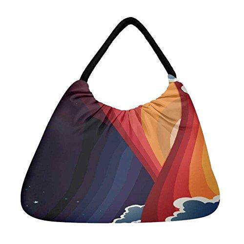 Tasche mehrfarbig Damen Tote Snoogg mehrfarbig vqpRqS