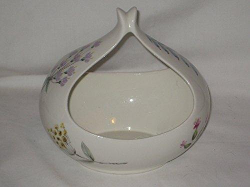 Vintage Hallcraft Eva Zeisel Bouquet Flowers Porcelain Gravy Boat