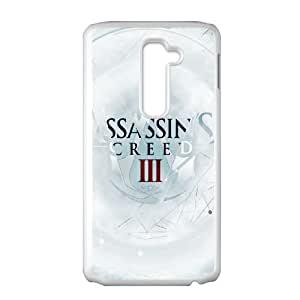 LG G2 Cell Phone Case White Assassins Creed 3 Poster VIU084913