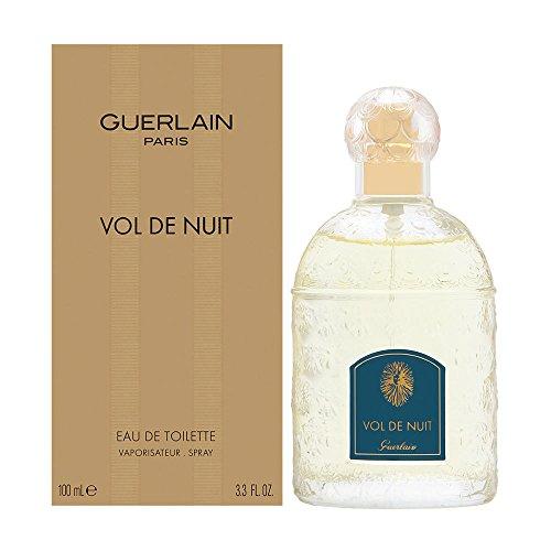 Guerlain Vol De Nuit Eau de Toilette Spray for Women, 3.3 Ounce