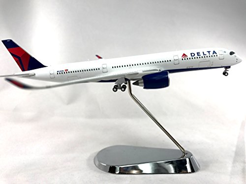 geminijets-delta-air-lines-airbus-a350-900-diecast-airplane-model-n501dn-with-chrome-stand-1400-scal
