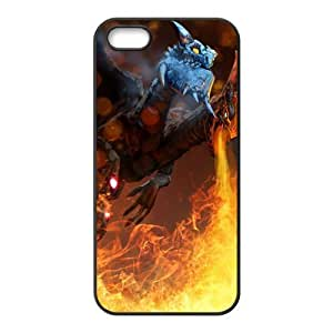 Classic DOTA WOW Online Game Customized Special DIY Rubber Back Case for iPhone 5 5s by runtopwell