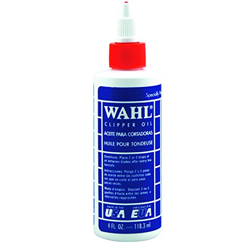 4 Ounce Clipper (Wahl Professional Animal Blade Oil for Pet Clipper and Trimmer Blades (#3310-230))