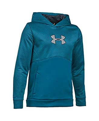 Under Armour Boys' Storm Armour Fleece Mid Logo Hoodie