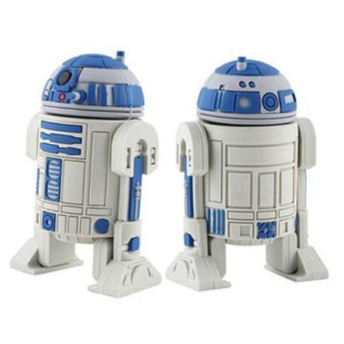 16GB SUPER Speed Star Wars R2D2 USB 2.0 Full Capacity Flash Drive (US SELLER)]()
